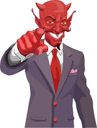 devil in suit